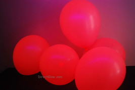 11 inch Pink Blacklight Reactive Latex Balloons- 50 pack - $15.95