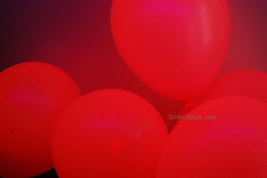 11 inch Pink Blacklight Reactive Latex Balloons- 100 pack - $29.95