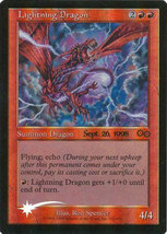 "Magic the Gathering MTG ""Lightning Dragon"" Promo  1998 Foil Card x1 * NM... - $7.00"