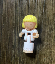 Vintage 1996 Polly Pocket Wedding Day Locket Replacement TRISTA DOLL Only - $49.49