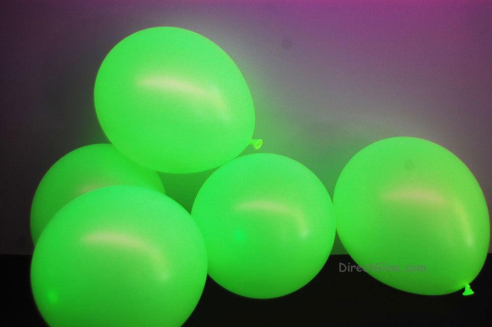 Uv yellow balloons1