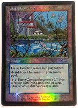 "Magic the Gathering MTG ""Faerie Conclave"" Foil Card x1 * NM [CB] - $8.00"