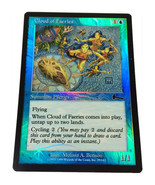 "Magic the Gathering MTG ""Cloud of Faeries"" Foil Card x1 * NM [CB] - $7.00"