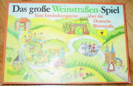 DAS GROBE WEINSTRABEN SPIEL THE GROSS WINE ROAD GAME RAVENSBURGER WEST G... - $30.00