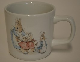 1993 Wedgwood Frederick Warne Peter Rabbit Child's Cup Mug Bunny Made In... - $24.95