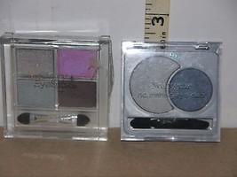 Lot of 2 Wet N Wild Eye Shadow Quad Stardust & Neutrogena Eye Duo Starry... - $10.88