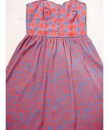 Kensie Prety Dress S Plaid Corset Upper Animal Print Skirt Spaghetti Min... - $24.95