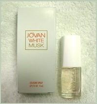 Jovan White Musk Cologne Spray by Coty - 11 ml .375 oz - $11.95