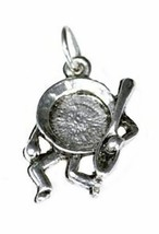 NICE Dish spoon Hey! diddle diddle mother goose pendant .925 - $26.75