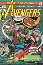 The Avengers Comic Book #132, Marvel Comics Group 1975 VERY FINE - $17.34