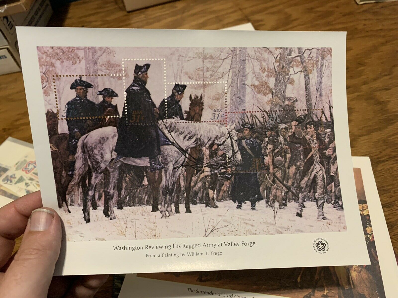 USPS 1976 Heritage Collection Book with stamps + 4 Bicentennial Stamp Sheets