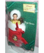 Belle doll in a Holiday Stocking ornament Disney Beauty and the Beast - $19.99
