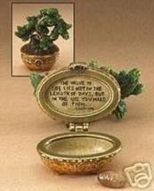 """Boyds Treasure Box """"Ms. Wangs Bonsai Tree"""" #392170 -NIB-2007- RETIRED - $24.99"""
