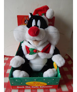 Vintage 1999 Warner Bros Looney Tunes Sylvester the Cat Deck the Halls P... - $19.79