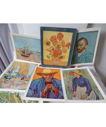 Vintage Skira Inc Van Gogh Masterpeices Portfolio Art 6 Color Painting p... - $22.28