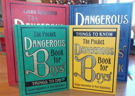 Lot of 4 The Dangerous Book for Boys - $19.99