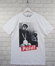 Actual Fact T-Shirt Eric B et Rakim Paid Blanc Rap Hip Hop Col Rond Tee - $40.45