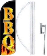 BBQ Windless  Swooper Flag With Complete Kit - $62.99