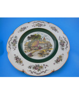 "VINTAGE DECORATIVE PLATE ASCOT SERVICE WOOD & SONS ENGLAND 10.5"" plate - $6.67"