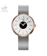 SK® New Women Causal Wrist Watches Mesh Belt Mix Match Luxury Female Dress - $18.34+