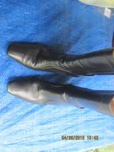 COLE HAAN Black Mid-Calf Boots Heels Womens 7AA - $35.00