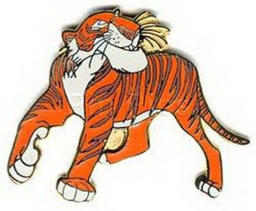 Shere Khan tiger Jungle Book  full body Disney  Authentic  pin/pins