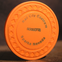 """Roulette Chip From: """"Rail City Casino"""" - (sku#3211) - $2.99"""