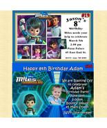 Miles From Tomorrowland Birthday Invitations You Print Personaslized - $8.50