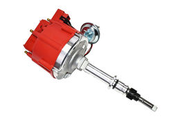 Chevy Late Inline 6 Cylinder HEI  Distributor 230 250 292 Red 65K Coil image 7