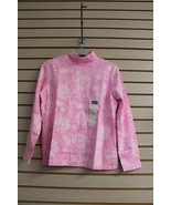 NEW LAURA SCOTT WOMENS SIZE EXTRA LARGE XL PINK MOCK NECK KNIT TOP SHIRT - $6.89