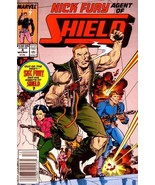 NICK FURY, AGENT of SHIELD #4 (1989 Series) NM! - $1.00