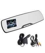 HD REARVIEW MIRROR CAR CAMERA VIDEO RECORDER LED NIGHT VISION LCD MOTION... - $20.78