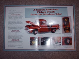 """The Danbury Mint """"The 1956 Ford F-100 Pickup"""" Sales Brochure and Order Form - $8.75"""