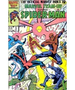 OFFICIAL MARVEL INDEX TO MARVEL TEAM-UP #5 ~ SPIDER-MAN - $1.00