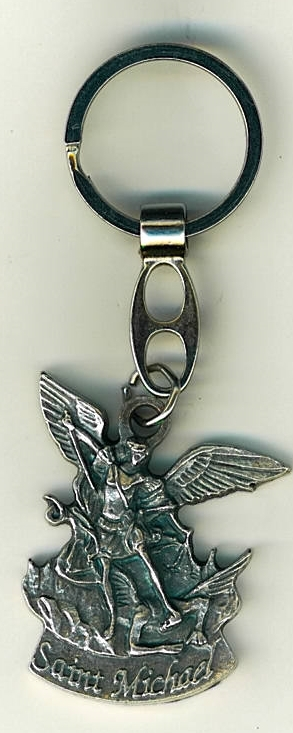 Key ring   saint michael 105.0070 001