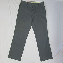 Basic Men Casual Style Classic Fashion Gray Cotton Work Pants Size 34 / 34 - $19.58