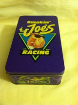 Camel Cigarettes Smokin Joe Racing Tin with Mat... - $3.99