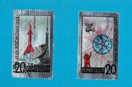 Russia (#3022-3) Set of 2 Jumbo Stamps - $5.00
