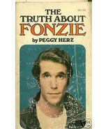 THE TRUTH ABOUT FONZIE by Peggy Herz (1976) paperback - $9.89