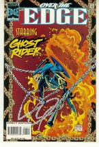 OVER the EDGE #4 NM! ~ GHOST RIDER - $1.00