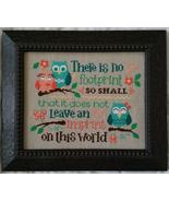 Leave An Imprint cross stitch chart Cherry Hill Stitchery - $7.20