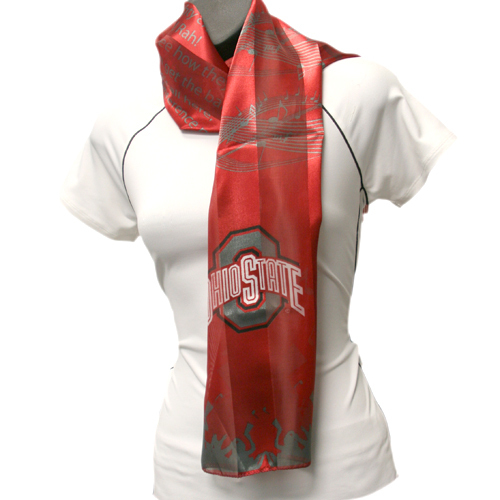 Ohio State Buckeyes Officialy Licensed Ncaa Musical Scarf
