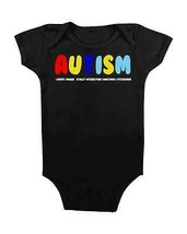 AUTISM BABY ONESIE #AUTISM BABY CLOTHES BABY SHOWER GIFTS CUTE BABY CREE... - $15.00