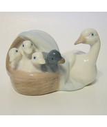 Goose Figurine Porcelain Made in Mexico by Dalia #17 X - $31.18