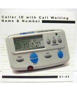 Consumer Electronic Products Bellsouth Caller ID with Call Waiting CI 43... - $34.64