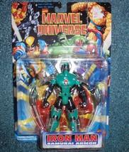 "MARVEL UNIVERSE Iron Man Samurai Armor 5"" ACTION FIGURE 1996 TOYBIZ Aven... - $22.30"