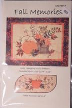 Fall Memories Quilt & Table Runner Pattern - $7.95