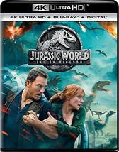 Jurassic World: Fallen Kingdom [4K Ultra HD + Blu-ray + Digital]