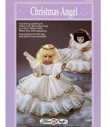 Christmas Angel Doll Outfit Fibre Craft Crochet Pattern/Instructions Lea... - $3.57