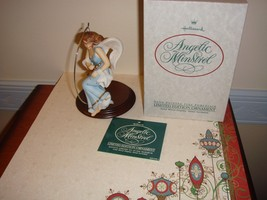 Hallmark 1988 Limited Edition Porcelain Angelic Minstrel Hand Painted - $18.99